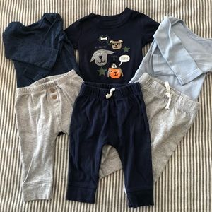 Baby Boy Onesie & Pant Bundle